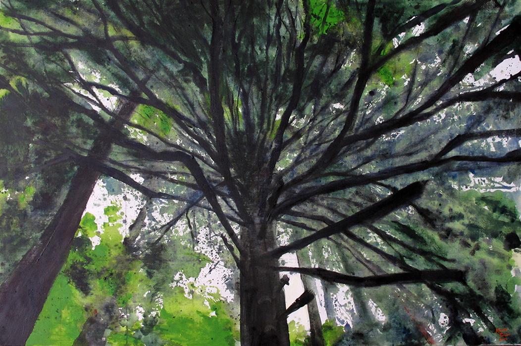 oil on canvas, 120cmx180cm sold
